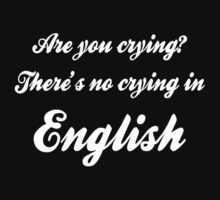 No crying in English! by mobii