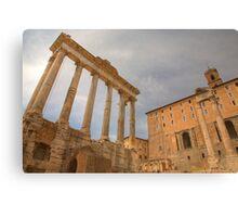 Historic Centre of Rome, Italy Canvas Print