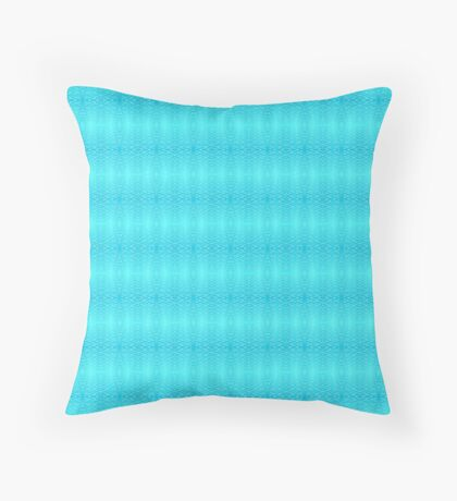 Aqua Vitae #4 Throw Pillow