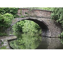 sheffield canal Photographic Print