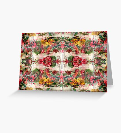 Floral Remix 4 Greeting Card