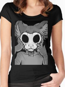 Behind The Mask Women's Fitted Scoop T-Shirt