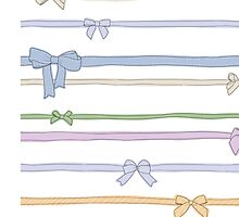 Ribbons by anniegbosch