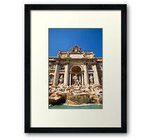 Fontana di Trevi, Rome, Italy. Framed Print
