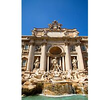 Fontana di Trevi, Rome, Italy. Photographic Print