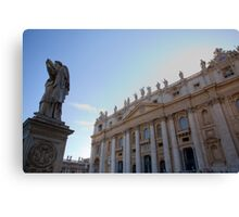 Saint Peters Basilica, Vatican City, Rome, Italy Canvas Print