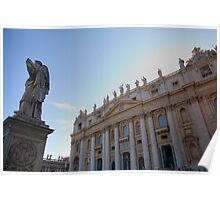 Saint Peters Basilica, Vatican City, Rome, Italy Poster