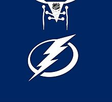 Tampa Bay Lightning Home Jersey by Russ Jericho