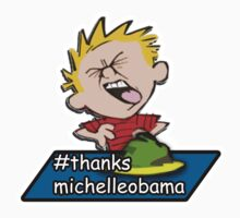 Calvin Says: #thanksmichelleobama One Piece - Short Sleeve