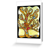 Owl in Kimt's Tree of Life Greeting Card