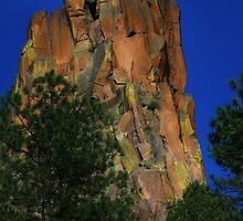 Battleship Rock, NM by F.  Kevin  Wynkoop