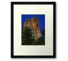Battleship Rock, NM Framed Print