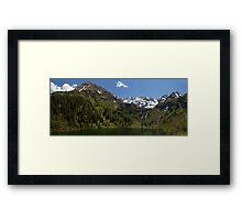 Lake Hüttensee Framed Print