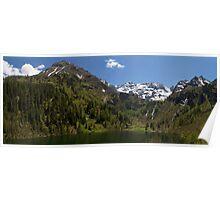 Lake Hüttensee Poster