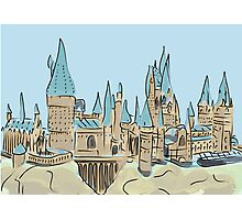 Sandcastle Photographic Print