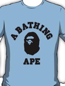 A BATHING APE (BLACK PRINT) T-Shirt