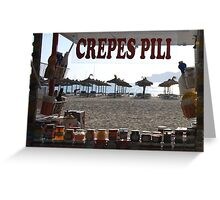 Anyone for crepes? Greeting Card