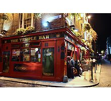 Ghosts of Temple Bar Photographic Print