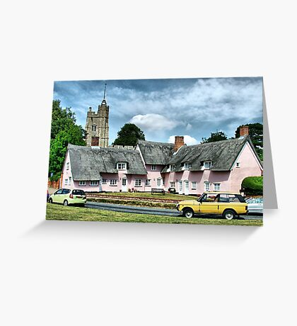Cavendish Suffolk  Greeting Card