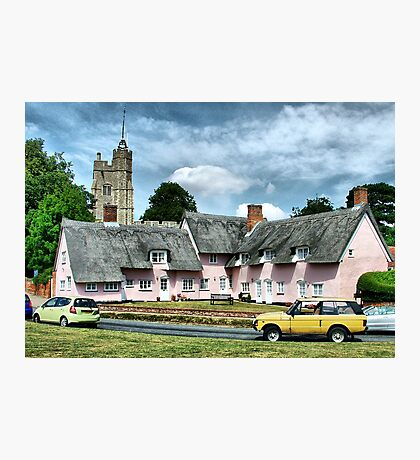 Cavendish Suffolk  Photographic Print