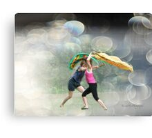 Dancing in the Park Canvas Print