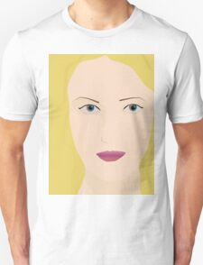 Blonde woman print T-Shirt
