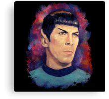 Colorfull Captain Spock Canvas Print