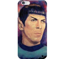 Colorfull Captain Spock iPhone Case/Skin