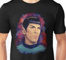 Colorfull Captain Spock Unisex T-Shirt