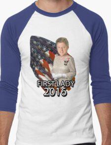 Bill for First Lady 2016 Men's Baseball ¾ T-Shirt