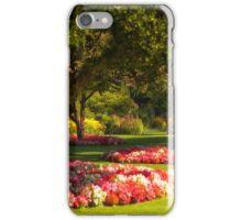 Three Trees - Butchart Gardens iPhone Case/Skin