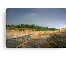 Morning View - River Secchia,Sassuolo,Italy - HDR Canvas Print