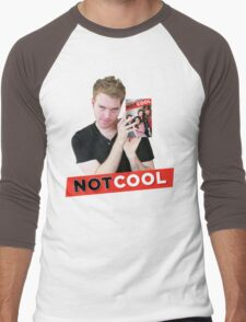 Not Cool - Shane Dawson promo Men's Baseball ¾ T-Shirt