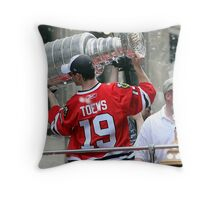 Chicago Blackhawks celebration Throw Pillow