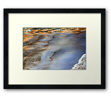 A Caribbean Gift of Water Colors Framed Print