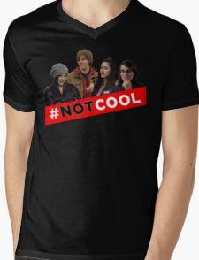 #Not Cool - Cast! Mens V-Neck T-Shirt