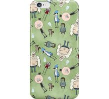 Regular Show on Green iPhone Case/Skin