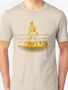 Float like a butterfly sting like a poison dart *gold version* T-Shirt