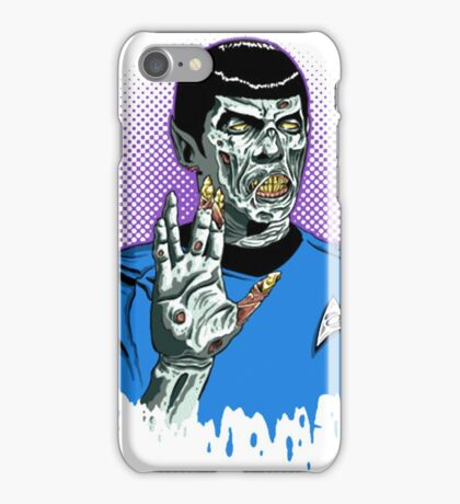 Captain Spock - Zombie iPhone Case/Skin