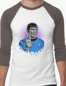 Captain Spock - Zombie Men's Baseball ¾ T-Shirt
