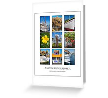 Tarpon Springs Poster Greeting Card