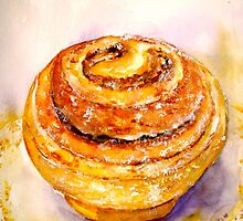 Delicious ..Cinnamon Bun by ©Janis Zroback