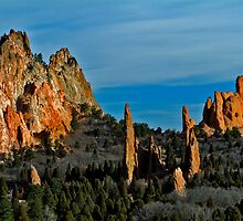 Garden Of The Gods by Mike Peaton