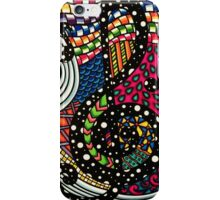 Polka Dot Groove, Creations by Linz iPhone Case/Skin