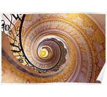 Staircase at Melk Poster