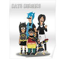 BATS BURGERS Poster