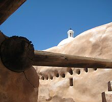 Tumacacori Mission from the Granary by Michael Cohen