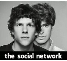 The Social Network Photographic Print