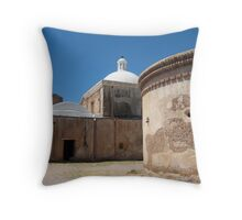 Tumacacori Mission from the North Throw Pillow