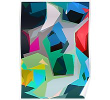 Collage Abstract Poster